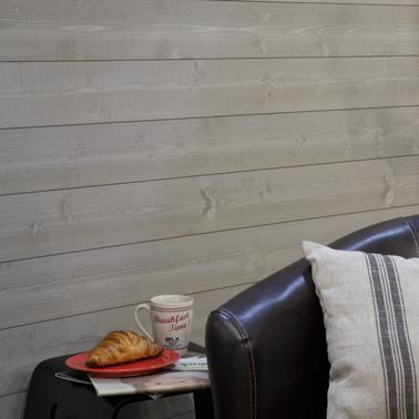 lambris bois ou pvc une d co murale top tendance. Black Bedroom Furniture Sets. Home Design Ideas