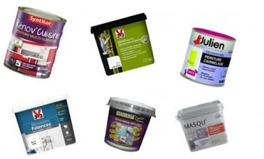 Les meilleures marques de peinture carrelage : V33, Peinture Julien, Résinence et Masqu'Carrelage de Maison déco