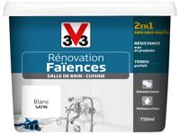 peinture renovation V33 pour peindre carrelage mur et sol cuisine, faience salle de bain