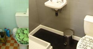 idee deco avec une peinture sur carrelage dans la cuisine et la salle de bain