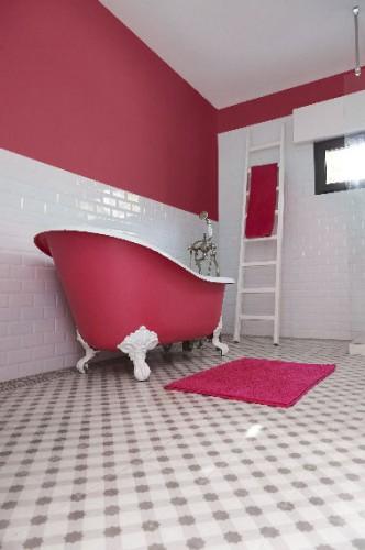 26 couleurs peinture salle de bain pleines d 39 id es d co cool for Peinture dans salle de bain