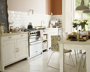 11 couleurs cuisine avec une peinture murale tendance. Black Bedroom Furniture Sets. Home Design Ideas