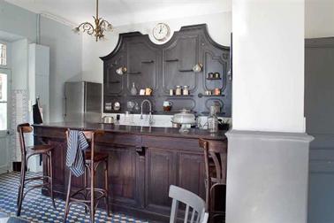 11 couleurs cuisine avec une peinture murale tendance for Peinture pour meuble cuisine chene