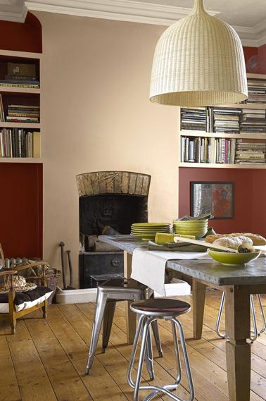 Tendance couleur peinture salon en 2014 avec astral - Deco salon beige et rouge ...