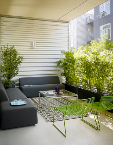 Terrasse zen id es et photos pour une terrasse sympa - Une terrasse en ville ...