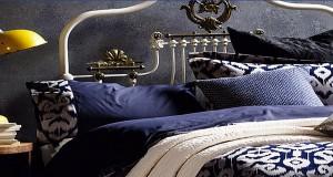 idee decoration avec du bleu chambre adulte