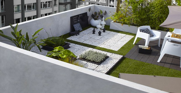 Terrasse zen id es et photos pour une terrasse sympa - Zen terras deco idee ...