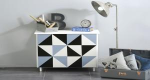 peindre un meuble idee deco avec la peinture pour meuble Vernis Relooking V33