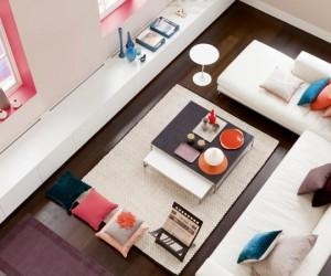 nouvelle couleurs tendance pour la peinture salon pour une deco moderne, design ou ambiance zen
