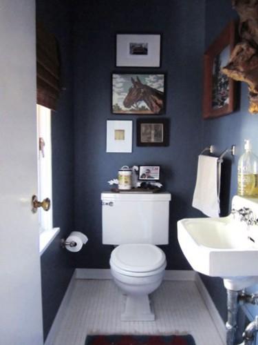 Peinture wc id es couleur pour des wc top d co - Peinture dans les toilettes ...