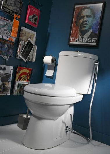 bleu nuit pour la peinture de wc lheure amricaine