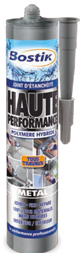 cartouche joint d'étancheité métal haute performance Bostik pour tous travaux deco