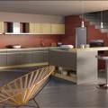 cuisine couleur taupe idee deco zen et chic