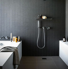 idee deco salle de bain grise