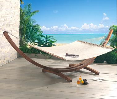Hamac 2 Places Hamac Avec Support Acier 2 Places Beach Set Rouge