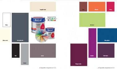 nuancier peinture laque glycero brillante astral 15 couleurs. Black Bedroom Furniture Sets. Home Design Ideas
