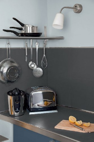 Peinture pour cuisine anti tache sur murs cr dence et - Peinture pour credence cuisine ...