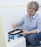 peindre sa salle de bain facilement avec deux couleurs de peinture Hydroactiv V33