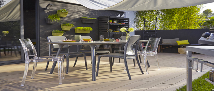 terrasse en cosse de riz le rev tement sol exterieur tranquille. Black Bedroom Furniture Sets. Home Design Ideas