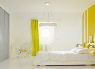 la peinture jaune pour une chambre c 39 est chouette deco. Black Bedroom Furniture Sets. Home Design Ideas