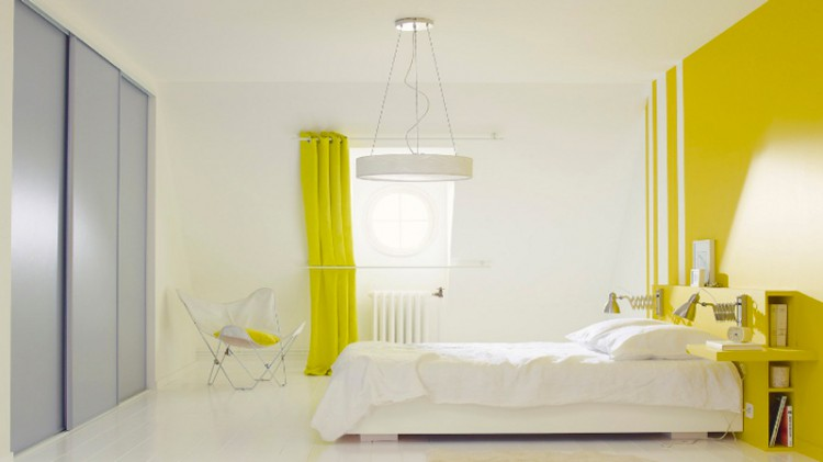 Idee deco chambre peinture pictures to pin on pinterest - Idee couleur peinture chambre garcon ...