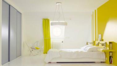La peinture jaune pour une chambre c 39 est chouette for Photo deco peinture chambre adulte