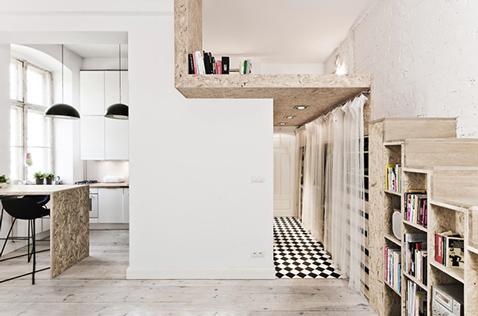 Am nagement studio optimis avec rangement sous escalier - Optimiser rangement chambre ...
