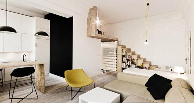 aménagement dun studio de 29 m2 bien pensé I Déco-Cool.com