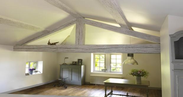 Badigeon pour bois verni cir ou fonc lib ron i d co cool for Peindre des poutres