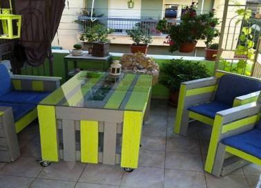 5 tables palettes pour un jardin hyper sympa i deco cool. Black Bedroom Furniture Sets. Home Design Ideas