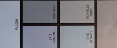 12 nuances de peinture gris taupe pour le salon for Nuancier peinture gris perle