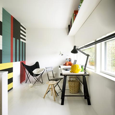 repeindre du lambris de plusieurs couleurs diy i d co. Black Bedroom Furniture Sets. Home Design Ideas