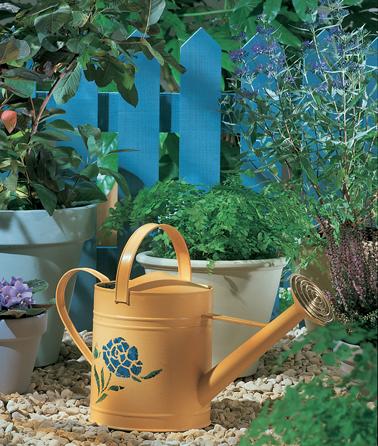 Peindre portail fer rouille et objet jardin avec protect - Deco jardin fer rouille ...