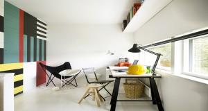 DIY pour repeindre du lambris verni ou brut sur mur salon, bureau et chambre