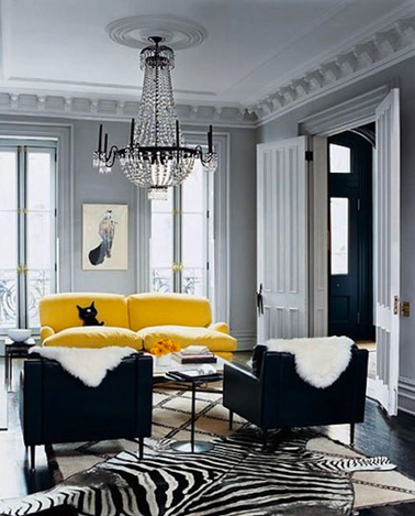 mettre du jaune dans sa d co sans repeindre la pi ce d co. Black Bedroom Furniture Sets. Home Design Ideas