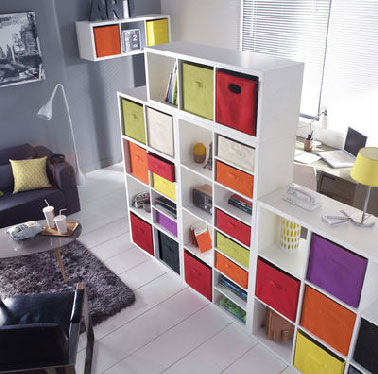 cloison amovible ikea multi casiers rangement. Black Bedroom Furniture Sets. Home Design Ideas