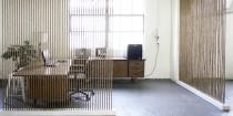 separer espace intérieur maison sans cloisonner avec des cordes ajourées