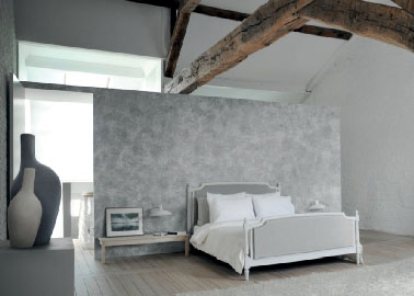 peinture chambre parentale couleur gris et blanc. Black Bedroom Furniture Sets. Home Design Ideas