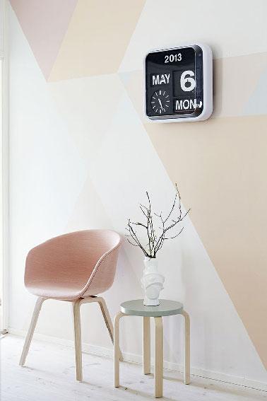 Peinture Une Couleur Pastel Sur Les Murs C 39 Est Tendance