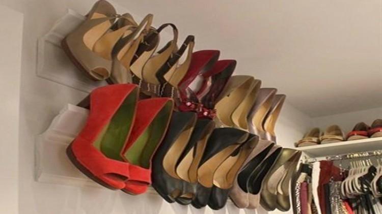Astuce de rangement diy memes - Rangement chaussures diy ...