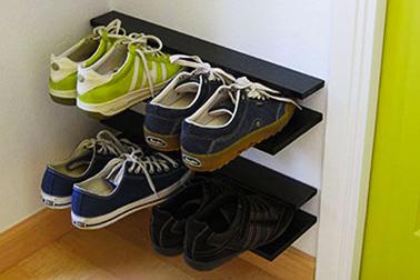 fabriquer meuble rangement chaussures