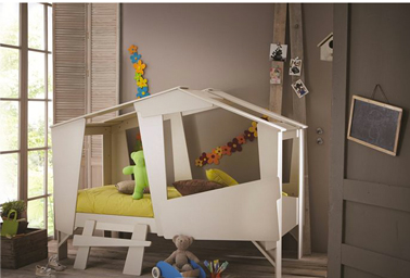 lit cabane pour enfant partir de 5 ans. Black Bedroom Furniture Sets. Home Design Ideas