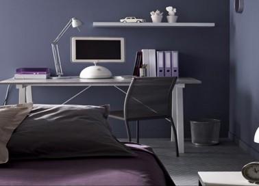 Peinture chambre ado gar on id es de d coration et de mobilier pour la conception de la maison for Peinture chambre garcon ado
