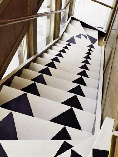 Quelle couleur pour repeindre un escalier deco cool - Repeindre un escalier en bois ...