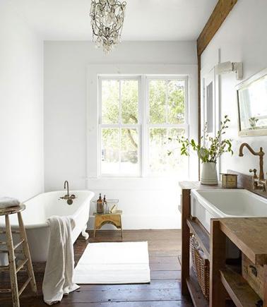 Salle de bain r tro ou le retour de la tendance vintage - Salle de bain amenagee ...