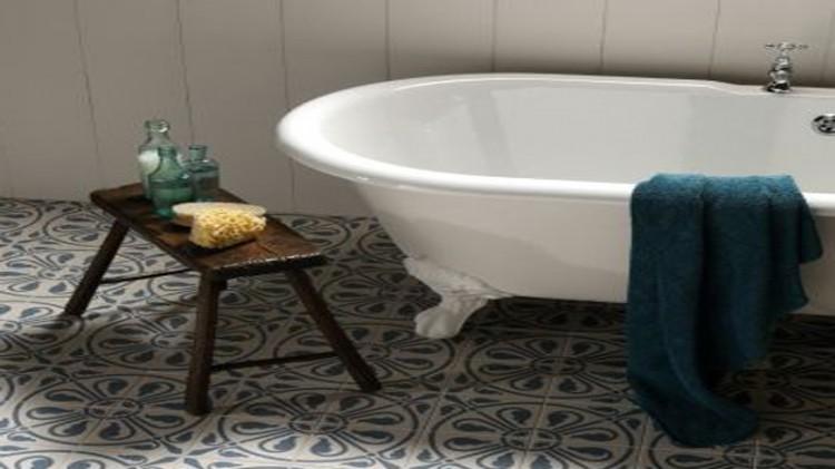 Salle de bain r tro ou le retour de la tendance vintage - Deco salle de bain vintage ...