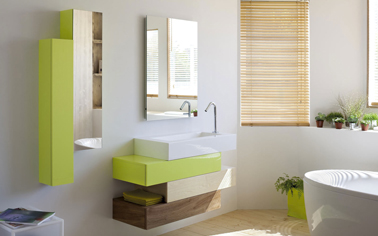 couleur carrelage salle de bain zen