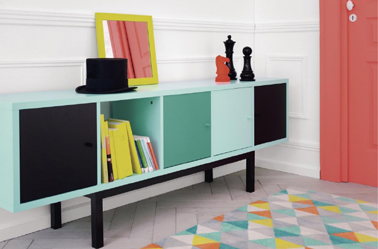 personnaliser la couleur du buffet et des meubles avec myfly. Black Bedroom Furniture Sets. Home Design Ideas