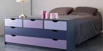 relooker ses meubles commode, chaise et etagères avec de belle couleur de peinture