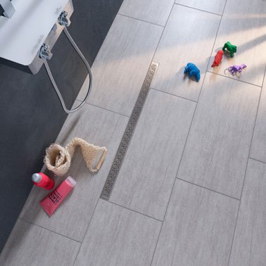 Carrelage gris clair ou anthracite on aime les deux for Carrelage grand carreaux gris